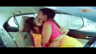 Hot desi bhabhi caught riding devar's cock in car