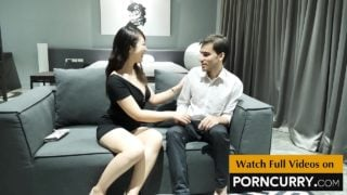 Desi boy fucking horny Chinese woman in hotel