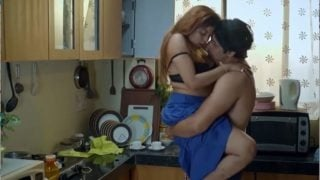 Hot Indian maid fucked hardcore in kitchen