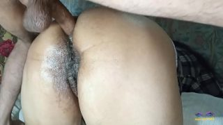 First time anal sex with horny desi woman