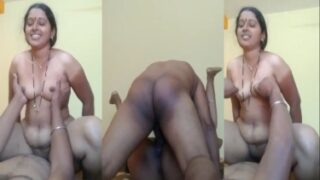 Cock riding by sexy Tamil housewife